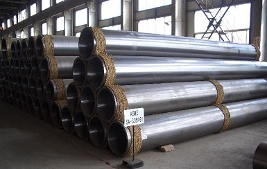 "ASTM A335 P91 pipes, 12"" SCH40"