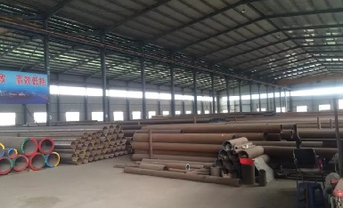 ASTM A335 Cr-Mo seamless pipes in stock