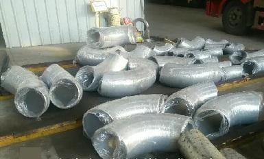 """90° Elbow, L/R SCH40 12"""", butt welding, UNS N10276."""