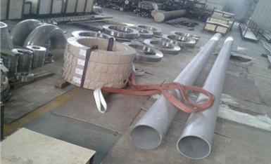 Hastelloy X (UNS N06002) materials: seamless pipes, ring flanges and fittings.
