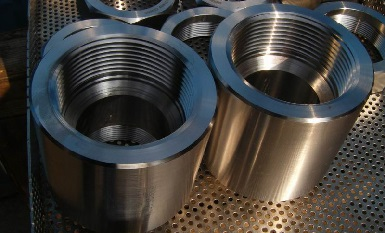 Forged couplings 3000#, Monel K-500, ASTM B865.