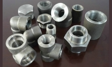 ASTM A105 forged fittings 6000#.