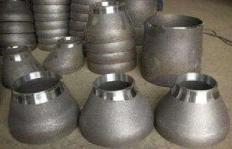 ASME B16.9 Conc. & Ecc. reducers, carbon steel.