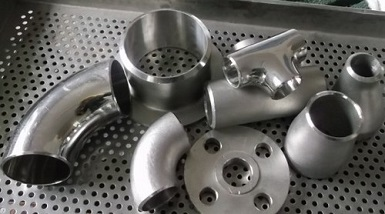 ASTM A403 Gr. WP316L butt welding fittings with sandblasting or mirror finish surface.