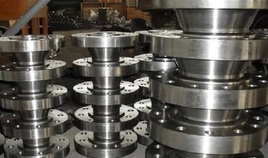 Forged flanges, ASTM A707 gr. L3 CL3