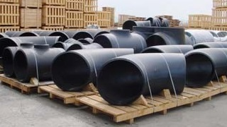 ASTM A234 WPB large-diameter ERW pipe fittings.