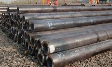"ASTM A335 P11 seamless pipes in stock, 12"" x 45 mm(w.t)."