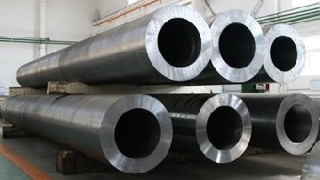 ASTM A335 P92 seamless pipes, 406 mm x 72 mm[w.t].