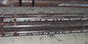 "ASTM A333 Gr.6 3"" SCH40 seamless pipes in stock."