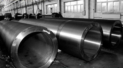 ASTM A335 P91 seamless pipes O.D=508 mm, W.T=66 mm.