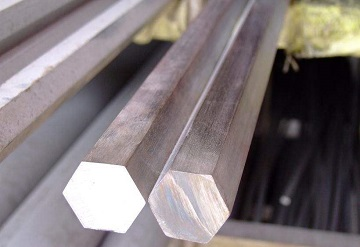 ASTM B473 UNS N08020 hot-rolled hexagonal bars.