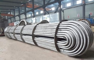 ASTM B729 alloy 20 tube bundles for a oil refinery in Mexico.