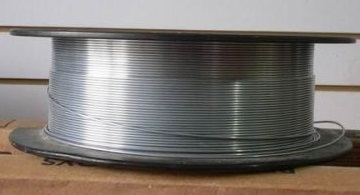 AWS A5.14 ERNiCu-7 welding wire in spool package.
