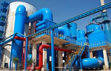 Chlorination process for production of titanium dioxide