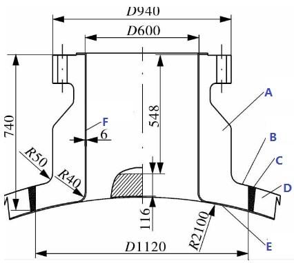 ASTM A182 F11 integral flange