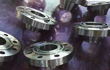 Inconel 600 WN RTJ flanges for a German client.