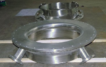 Incoloy 825 gasifier quench rings.