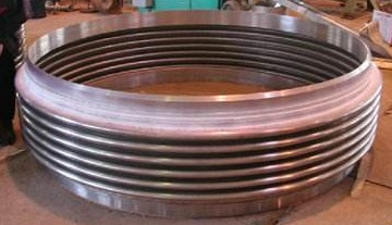 Inconel 625 corrugated bellows, made of ASTM B443 Gr. UNS N06625 plates.