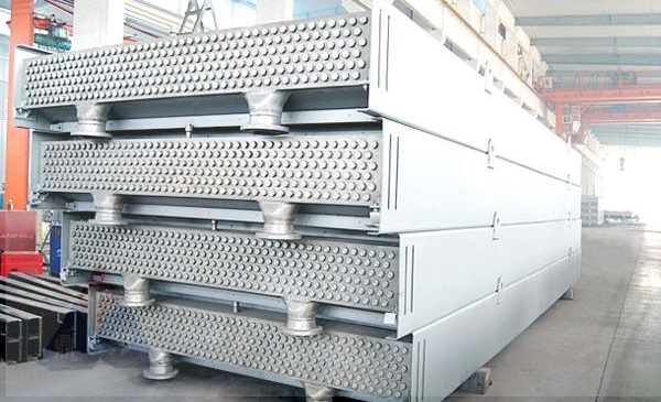 The plug-type air cooled heat exchanger made of Incoloy 825.