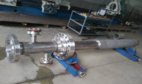The reformer burner made of Incoloy 800H for a methanol plant.