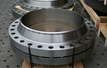 "ASTM A694 Gr. F60 weld neck flanges, 30"" STD RF"