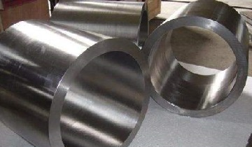 ASTM B381 Gr. F4, titanium forged hollow bars.