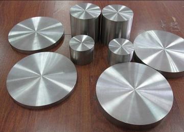 ASTM B381 titanium Gr. F3 discs (forged).