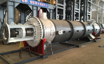 a-thin-film-evaporator-for-an-US-client-made-from-hastelloy-c-276