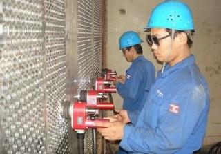titanium tubesheet welding