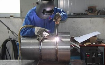 Welding of Titanium Gr.2 Pipes