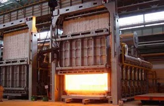 a solution annealing furnace