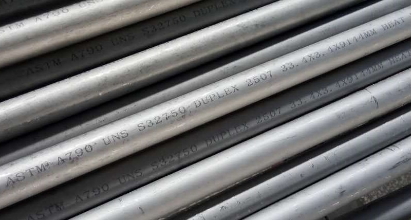 Duplex 2507 seamless pipes.