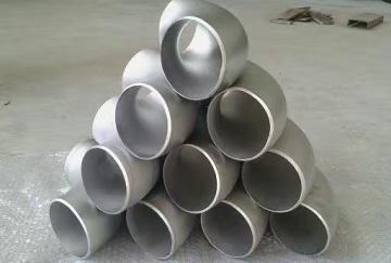 Titanium Gr.3 elbows.