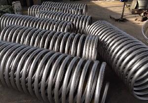 Titanium Gr.2 coils