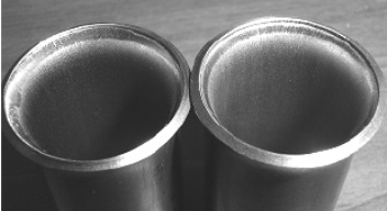 ASTM B338 Ti Gr.2 seamless tubes after flaring tests