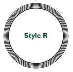 Style R spiral wound gasket.
