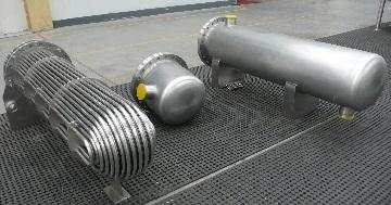 titanium tube bundles