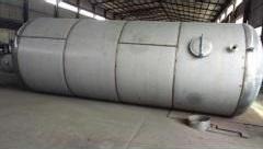 A titanium flash evaporator