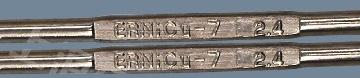 ERNiCu-7 electrodes, Monel 60