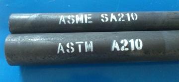 ASTM A210 boiler tubes